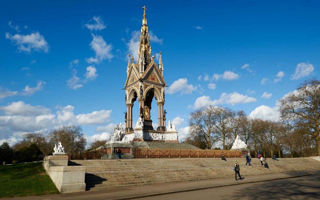 Albert Memorial Kiosk, Kensington Gardens